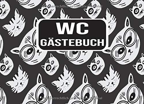 WC Gästebuch: Lustiges Buch zum Ausfüllen und Eintragen - Humor Gäste Eintragbuch Toilette mit...
