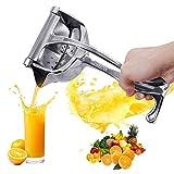 Exprimidor manual de frutas, aleación de acero inoxidable, exprimidor de limón, aleación de aluminio, exprimidor manual, exprimidor de jugo de granada, presión de limón, caña de azúcar, jugo de cocina
