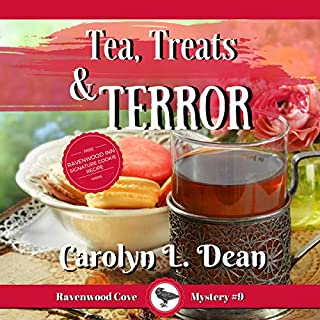 Tea, Treats, and Terror     A Ravenwood Cove Cozy Mystery              By:                                                                                                                                 Carolyn L. Dean                               Narrated by:                                                                                                                                 Gail Hedrick                      Length: 3 hrs and 3 mins     1 rating     Overall 4.0