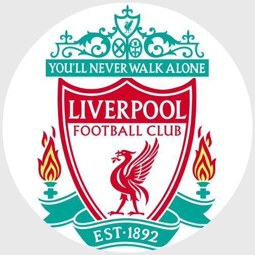 CISL Tortenaufleger Tortenfoto Aufleger Foto Bild Fußball Liverpool rund ca. 20 cm *NEU*OVP*