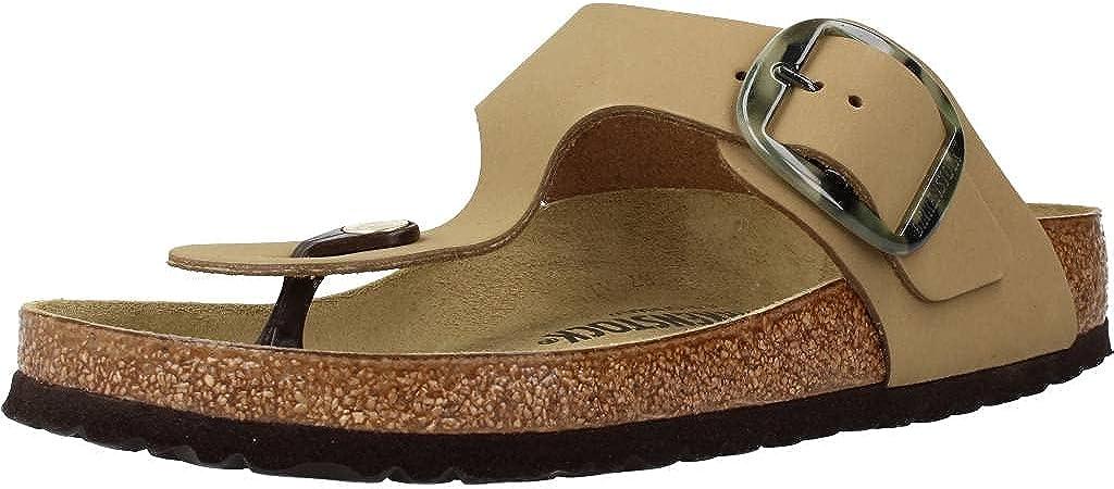 ストア Birkenstock Women's Gizeh 激安通販販売 Buckle Big Sandals