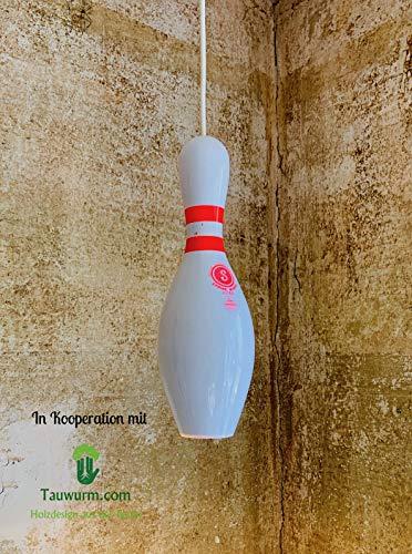 No Gutter Bowling Pin Leuchte
