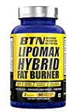 BTN Bionova Targeted Nutrition Sports Lipo Max Hybrid Fat Burner Non-Caffeine Thermogenic Supplement