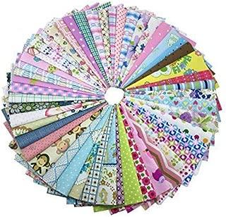 levylisa 200 PCS 6'' x 6''100% Precut Cotton Fabric Bundles DIY Quarters Bundle, Squares Quilting Fabric Quarter Fabric Bundle, Precut Fabric, Quilting Fabric Bundles, Precut Quilt Kit