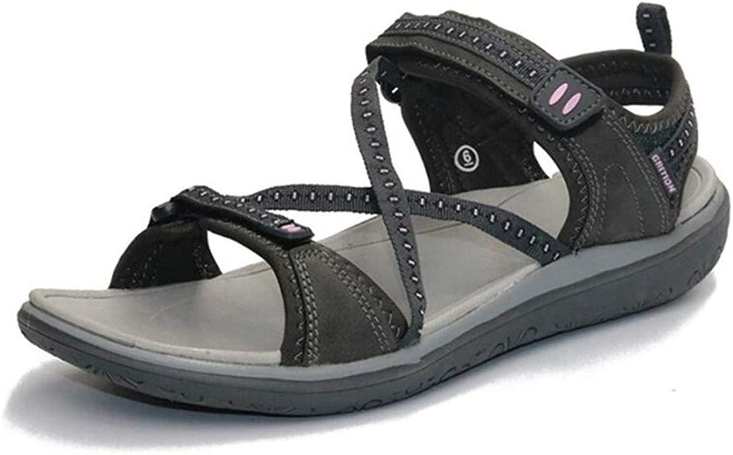 XuanHan Women Soft Cross Tied Flat Sandals Comfortable& Breathable Webbing shoes Sandals