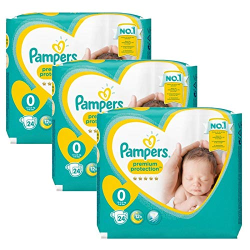 Couches Pampers - 72 Couches New Baby Taille 0