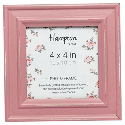 Hampton Frames Bilderrahmen, Holz, Rose, 4x4 (10x10cm)