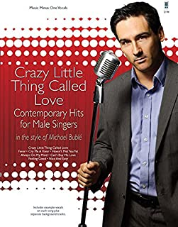 Michael Buble Hits Bk/CD Crazy Little Thing Called Love Contemporay Hits Male