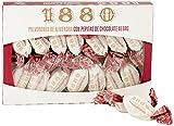 1880 - Polvorones de Almendra com Pepitas de Chocolate Calidad Suprema Típico Dulce Navideño Receta Artesanal, Envase Individual Polvorones Tradicionales, 310 Gramos