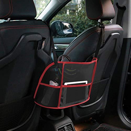Soporte de bolsillo para bolso de mano, soporte para bolso de coche entre asientos, bolsillo de almacenamiento para documentos de...