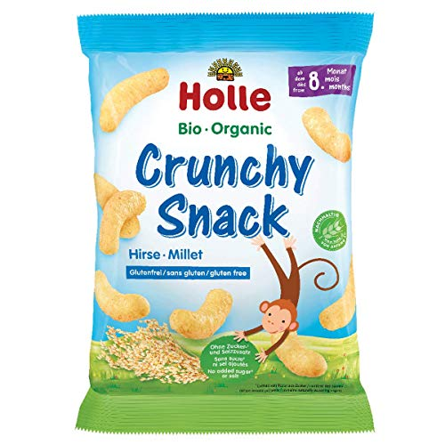 Holle Bio Crunchy Organic Corn Snack 8m + 25g