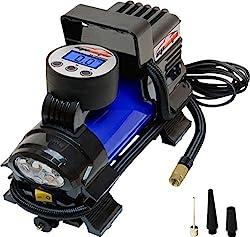 commercial Portable Air Compressor Pump EPAuto12V DC, Digital Tire Inflation Pump husky air compressors