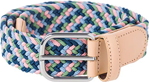 BRAX Damen Style Stretchgürtel Casual Elastisch Gürtel, Blue Mix, 85