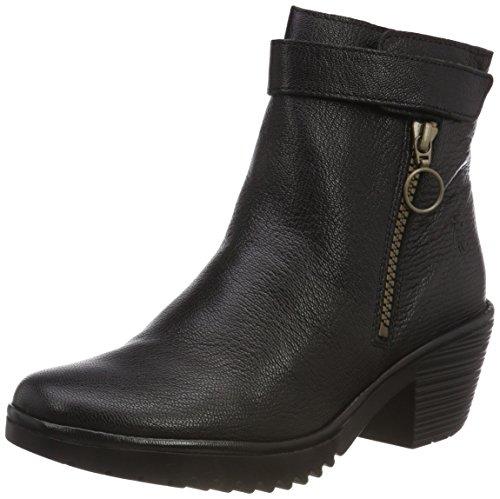 FLY London Women's Ankle Boots, Black Black 000, 41