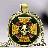 Empire Insignia Collar inspirado en Warhammer, colgante de Warhammer, collar de Warhammer, regalos de arte