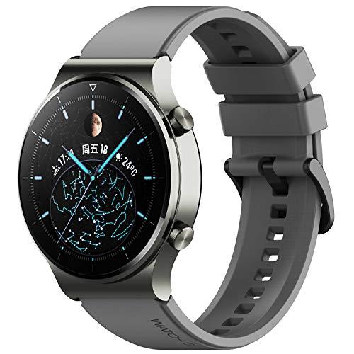 Keweni Cinturino Compatibile con Huawei Watch GT2 Pro, Cinturino di Ricambio in Silicone 22mm per Honor Watch Magic   Honor GS Pro   Huawei GT2 46mm