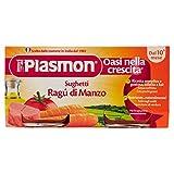 Plasmon Sughetto Ragù di Manzo - 2 Pezzi da 80 g