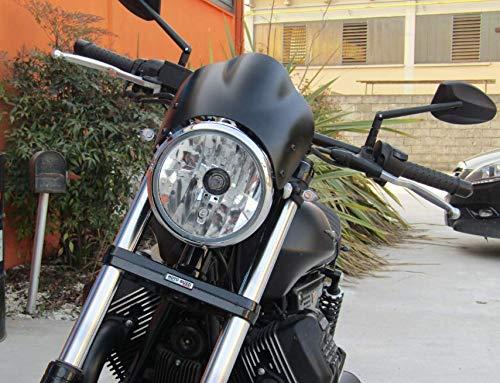 Cúpula para Moto Guzzi V7 V9 V 7 9 Roamer Bobber Stone Classic Café Racer