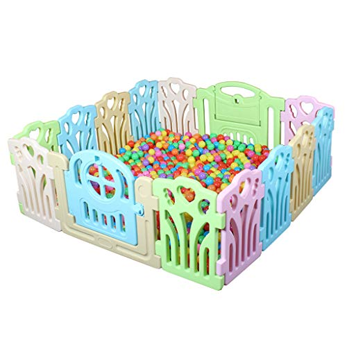 Sale!! Baby Fence Children Activity Center Security Game Fence Portable Hdpe Indoor Outdoor Play Fen...