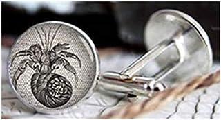 Gemelos con diseño de langosta vintage de la familia We are Forever Family, gemelos personalizados, regalos para hombres, ...