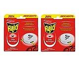 Raid Cebos - Trampas antohormigas. Elimina la colonia de hormigas entera. Efectivo en Interiores y Exteriores. 2 Packs de 6 cebos