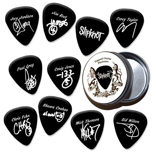 Slipknot Black Gitarren-Plektren mit Zinn Tin (HB)