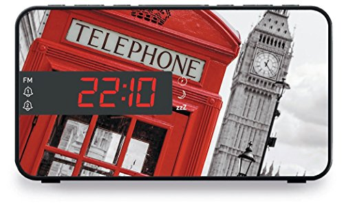 Big Ben, Radio Clock LED Display TB