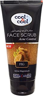 Cool & Cool Acne Control Face Scrub for Men, 75 ml