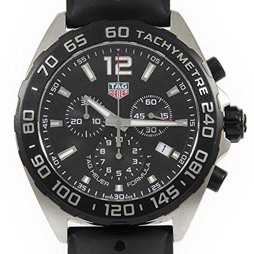 TAG Heuer Reloj de cuarzo de acero inoxidable con cronógrafo Fórmula 1 CAZ1010.FT8024 para hombre