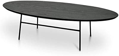 Linda 117.5cm Ash Coffee Table - Black