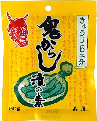 山清 鬼からし漬の素きゅうり用 90g まとめ買い(×10)