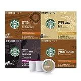 Starbucks Black Coffee K-Cup Variety Pack for Keurig Brewers, 24 Count (Pack of 4)