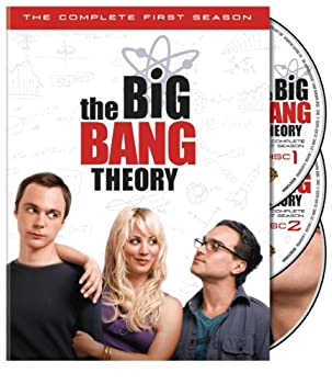 DVD The Big Bang Theory: Season 1 Book