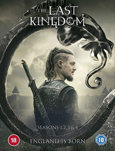 The Last Kingdom season 1-4 boxset (DVD) [2020]