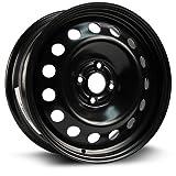 RTX, Steel Rim, New Aftermarket Wheel, 16X6.5, 4X100, 56.6, 42, black finish X99149N