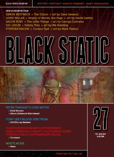 Black Static #27 (Black Static Horror and Dark Fantasy Magazine Book 2012)