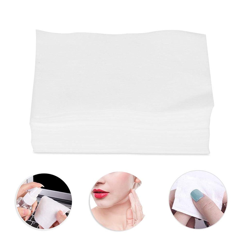 ハンディ天井置換300個の化粧コットンパッド、化粧リムーバースキンケアクリーニングワイプ用の柔らかいコットン
