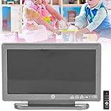 Jouet TV de Maison de poupée léger Moderne, télévision Miniature, Gris Lisse 1:12 pour Maison de poupée Mini Meubles Jouet décoration Accessoire de Maison de poupée