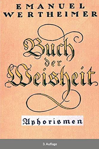 Buch der Weisheit: Aphorismen