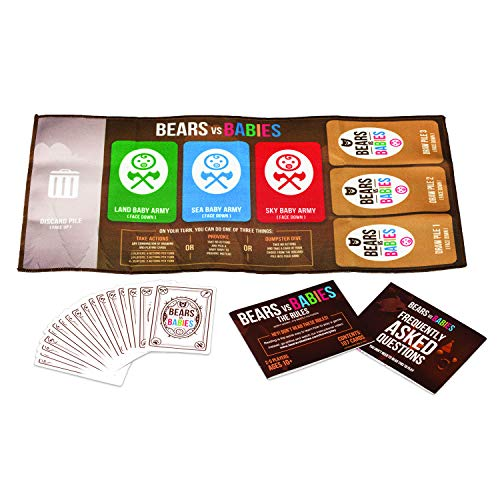Bears vs Babies: NSFW Expansion Pack - A Card Game from The Creators of Exploding Kittens
