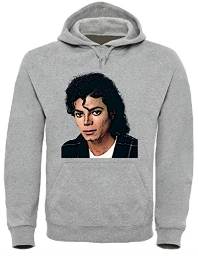 Michael Jackson Funny Mens & Ladies/Herren & Damen Unisex Hooded Pullover (XL)