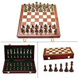 ♟️🏆【Inspiration】-- This high-end chess is not only suitable for adults to play, but also can be a useful tool to inspire children and stimulate their intelligence. ♟️🏆【Folding Chessboard】-- The folding chessboard is easy to carry and can be played in...