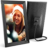 Nixplay Smart Digital Picture Frame 15.6 Inch, Share Moments Instantly via App or E-Mail