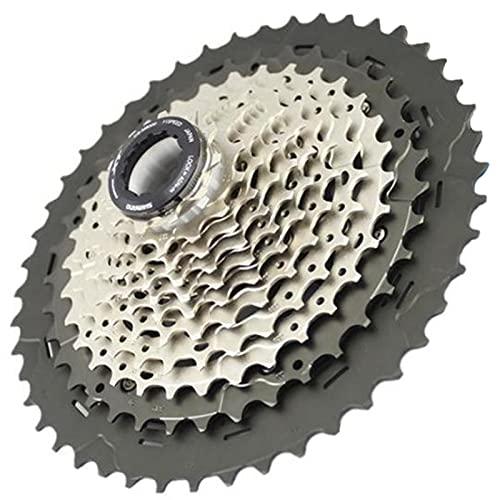 XT M8000 Index 11-40/42 / 46T Ciclismo Bloque de Rueda Libre Tornillo en Cassette Cog, 11 velocidades MTB Bicicleta Rueda Libre Piñón Piezas de Repuesto para Bicicleta (Size : 11-42T)