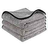 Best Detailing Towels - Lifaith Microfiber Car Drying Towels Super Absorbent Car Review