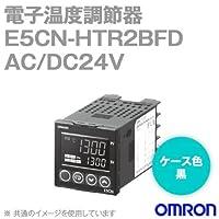 オムロン(OMRON) E5CN-HTR2BFD 電子温度調節器 プログラムタイプ 端子台タイプ AC/DC24V ブラック (リレー出力) NN