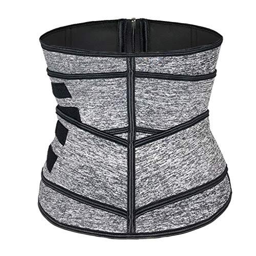 ZCJUX Corsé de entrenamiento de cintura de neopreno de sudor caliente para mujer, moldeador de cintura para adelgazar para perder peso, moldeador de estómago y cuerpo