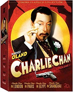 Charlie Chan Collection - Volume 1 (Charlie Chan in London / Charlie Chan in Paris / Charlie Chan in Egypt / Charlie Chan in Shanghai / Eran Trece)