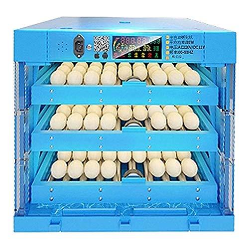 FZYE Incubadora de Huevos y nacedora 192 Huevos incubadoras Grandes para incubar Aves de Corral Pollo Pato Ganso Aves Giro automático Humedad