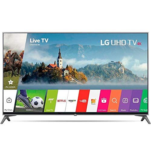 LG Smart TV 60' 4K UHD 60UJ7700 (Renewed)